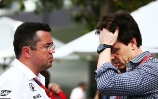 Toto Wolff, Eric Boullier